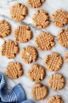 This almond butter cookies recipe is SO easy and delicious! Made with simple, healthier ingredients, the cookies are tender, rich, and super yummy.