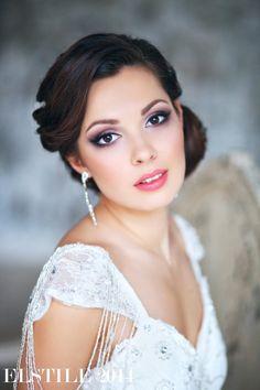 Свадебные прически и макияж, Текст