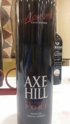 Axe Hill Calitzdorp Cape Vintage Port 2005 Sommelier Miguel Chan 95 Points #SouthAfrica #Wine #MiguelChan #NedAuc2017