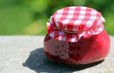 Johannisbeer-Pfirsich-Marmelade