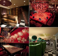 Alice of magic world restaurant in Tokyo. Alli, we must eat here someday.