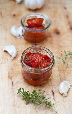 Im Backofen getrocknete Tomaten | Nur 5 Zutaten Blog