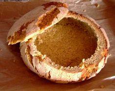 Broa de milho, bacalhau na broa de milho