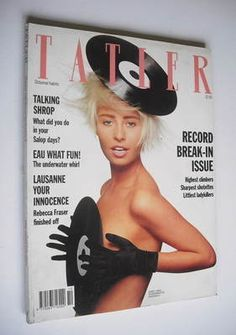 Photo of Wendy James (lead singer of Tranvision Vamp) by David Bailey back in Wendy James, Transvision Vamp, David Bailey, 80s Pop, Gretsch, My Images, Crochet Bikini, Pin Up, Celebrities