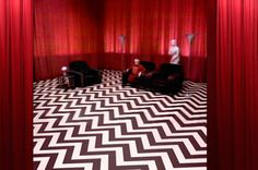 Get yourself a genuine creepy dream sequence room from Twin Peaks.
