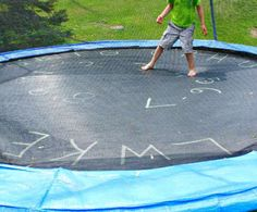 fun ways to learn the ABCs on the trampoline
