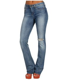 Joe's Jeans Destroyed Visionnaire Skinny Bootcut in Estelle