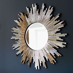 Large Burnished Sunburst Mirror | | Bring summer evenings in with this luxurious trend. Think dark, elegant colours alongside warm lighting and reflective surfaces. Achieve this look by combining dark velvets with high-gloss furniture and multiple light sources such as fairy lights, lanterns and floor lamps.