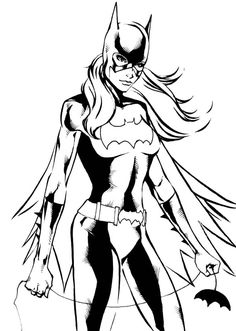 Batgirl coloring pages printable ~ Free Printable Batgirl Coloring Pages For Kids | Coloring ...