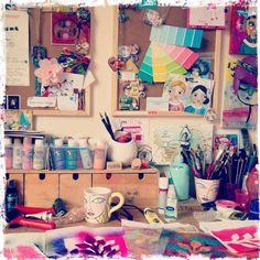 Rachelle Panagarry's studio