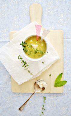 Gluten Free Slow Cooker Crockpot Pea and Parmesan Soup Recipe - Beach Decor Blog, Coastal Blog, Coastal Decorating