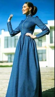 Long african shweshwe dress for girl