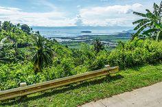 Philippine Countryside Scene