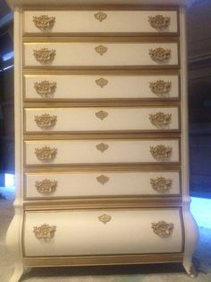 Vintage French Provincial Bombay Chest of by ProvincialbutFrench, $399.00