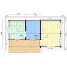 Saunamökki Tulikärki Floor Plans, Diagram, Home, Ad Home, Homes, Haus, Floor Plan Drawing, House Floor Plans, Houses