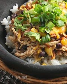 Pinterest for Dinner: Crockpot Santa Fe Chicken