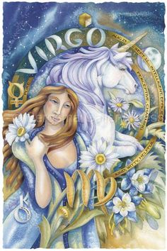 Bergsma Gallery Press::Paintings::Art With Symbols::Zodiac::Virgo - Prints