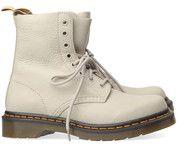 Beige/Witte Dr. Martens boots Pascal enkelaarsjes #drmartens #boots #laarzen