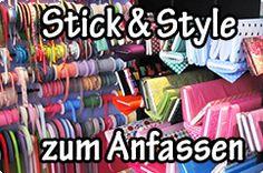 Stick & Style - Stoffe und Meterware einfach online