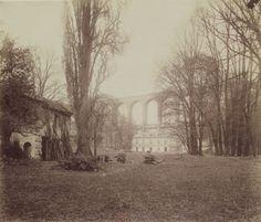 1901 - Arcueil-Cachan : Parc de Mme de Provigny : Va disparaitre. Photographe : Atget