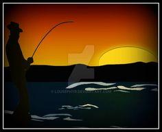 Twilight Fishing by lousephyr on DeviantArt