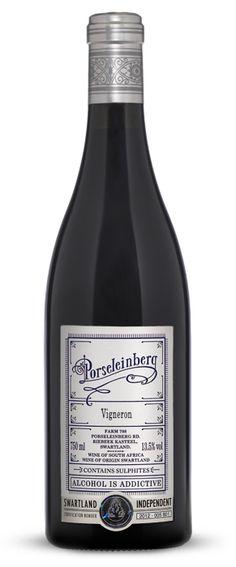 Porseleinberg, Swartland #SouthAfrica designed by Fanakalo #wine #packaging