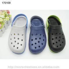 2017 new design EVA garden clogs sandals for men with holes