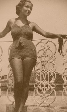 50s swimming suit