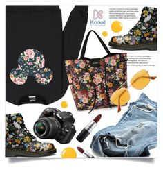 """60-Second Style: Insta-Ready"" by meyli-meyli ❤ liked on Polyvore featuring RetroSuperFuture, Nikon, MAC Cosmetics, distresseddenim, 60secondstyle and PVShareYourStyle"