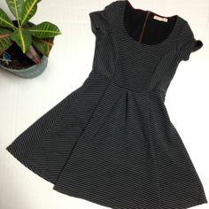 rewind Dresses & Skirts - Rewind Rib Knit Skater Dress