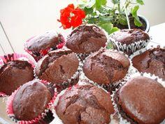 Briose cu ciocolata neagra - imagine 1 mare