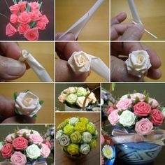 Make These Wonderful Roses from Drinking Straws - http://www.amazinginteriordesign.com/make-wonderful-roses-drinking-straws/