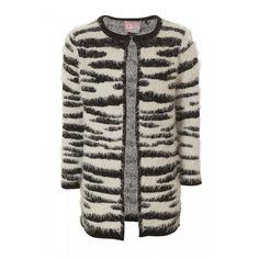 Vest Fzebra voor Meisjes. Wit, Zwart . Bestel goedkoop, online bij Coolcat.
