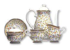 Serwis kawowy 15 el. dla 6 osób Flora Zepter 6C