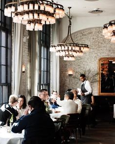 The 27 Classiest Restaurants Downtown