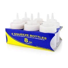 Amazon.com: Fox Run Set of 3 Icing Bottles: Icing Dispensers: Kitchen & Dining
