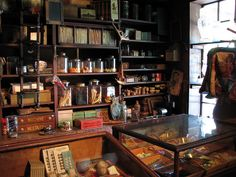 general store and apothecary shop