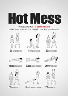 Hot Mess Workout