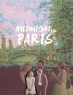 'Midnight in Paris' - Woody Allen - I loved this movie. Full of imagination and wonder, a delight.   Viv