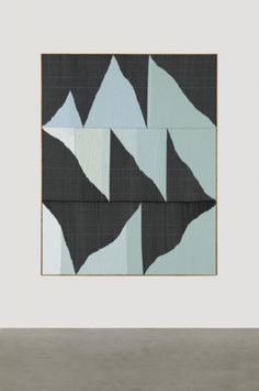 Brent Wadden: TBT, 2014 Handwoven fibers, wool, cotton and acrylic on canvas, 242,7 x 193 x 4,4 cm