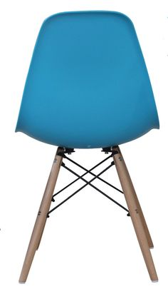 Blue Eames style chair