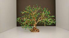 Spring Green Wire Tree Sculpture