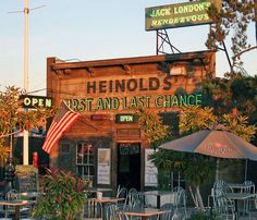 California -- Alameda County -- Oakland -- Heinold's First and Last Chance Saloon (built 1880)