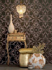 Design Beleza Intemporal por Gê Freitas.: Papel de parede em alta!!!!
