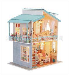 Hongda diy cabin _ Hongda diy cabin factory explosion models 13814 semi-finished products - Alibaba