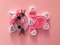 Quilled hello kitty for the newest cutest baby girl.