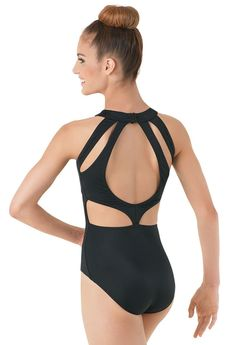 Cutout Back Leotard | Balera™