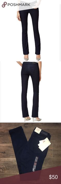 "Calvin Klein Jeans Women's Ultimate Skinny New with tags, Color is dark dirty, waist 14"" hip 17"" inseam 31"" cuff 6"" Calvin Klein Jeans Pants Skinny"