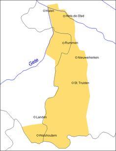 Het Truierlands dialectgebied