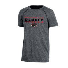 11e3a0930 Unlv Rebels Boys Short Sleeve Crew Neck Raglan Performance T-Shirt - Gray  Heather XS